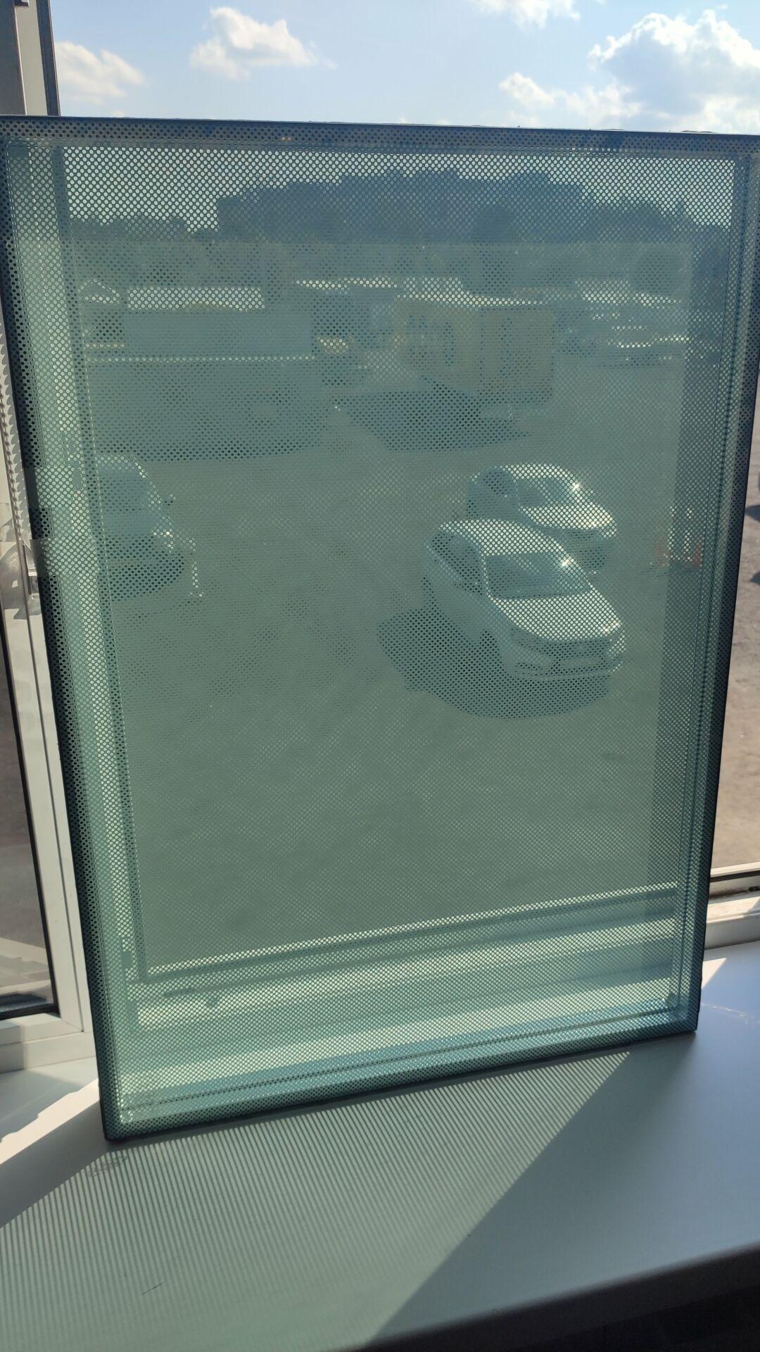Вид изнутри. Изображение прозрачное